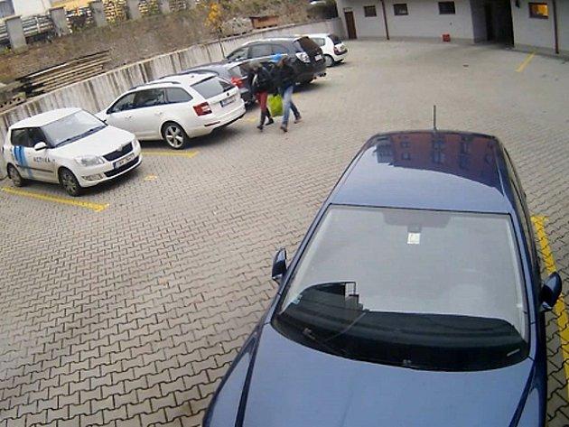 Vloupání do kanceláře v Klapkově ulici v Kobylisích.