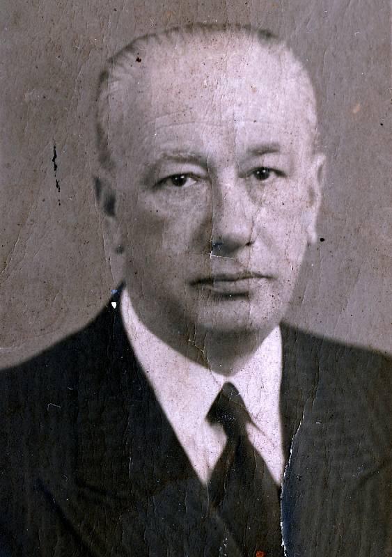 Otec Rudolf Fischl.