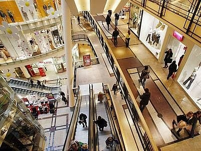 Obchodní centrum - ilustrační foto.