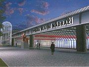 LETIŠTĚ? NE, HLAVNÍ NÁDRAŽÍ. Už příští rok by měla být dokončena rekonstrukce celé spodní haly, která by měla cestujícím přinést standard podobný letišti.