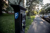 Parkovací zóny v Praze.