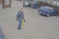 Podezřelý muž hledaný v souvislosti s krádežemi notebooků.