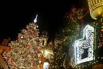 Vánoční trhy na Staroměstském náměstí končí