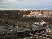 Zimní stadion Štvanice.