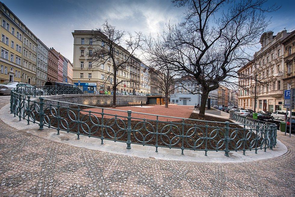 Revitalizace Kostnického náměstí, Praha 3 - Žižkov.