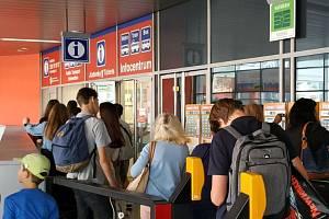 Infocentrum pražského dopravního podniku. Ilustrační foto.
