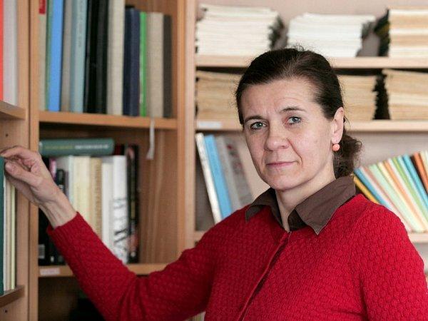 Ředitelka Knihovny Václava Havla vPraze Marta Smolíková.