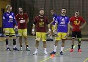 Trénink HC Dukla Praha házená.