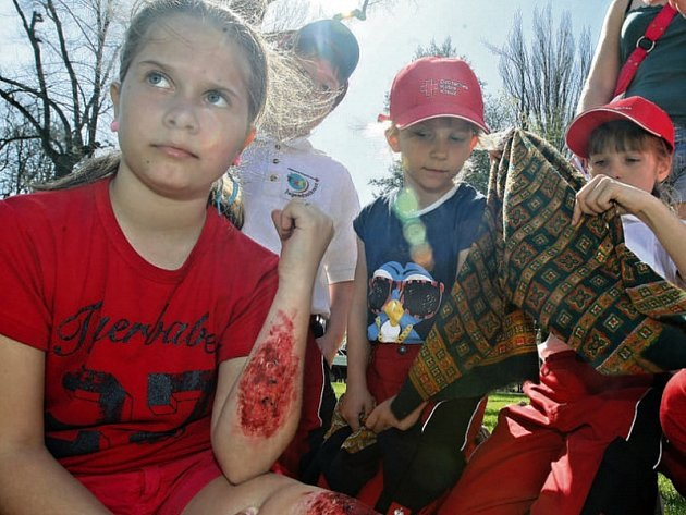 Středočeské děti se zraní nejméně ze všech dětí z celé republiky. Nejnižšího počtu pak dosahují děti z okresu Praha-západ. Ilustrační foto.