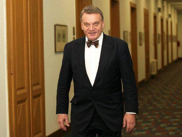 Primátor Bohuslav Svoboda (ODS).
