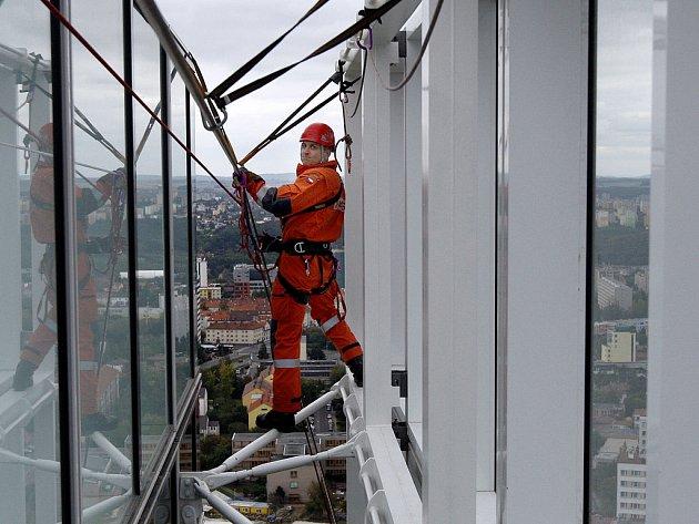 V sobotu 20. září proběhla mezinárodní hasičská soutěž Iron Fireman v objektu budovy City Tower na Pankráci. Byla věnována památce hasičů, kteří zahynuli v souvislosti s teroristickým útokem na budovy Světového obchodního centra v New Yorku v září 2001.