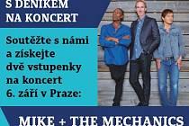 Mike+ The Mechanics. Soutěž.