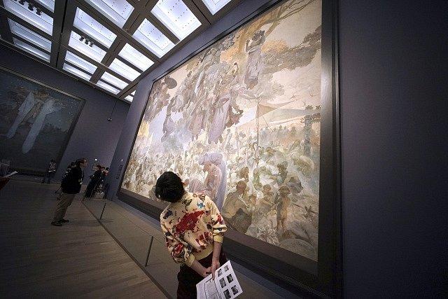 Výstava Slovanské epopeje.