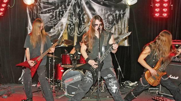Kapela Desire For Sorrow vyhrála ve vysočanském klubu Music city první kolo soutěže Metal Gate Massacre.