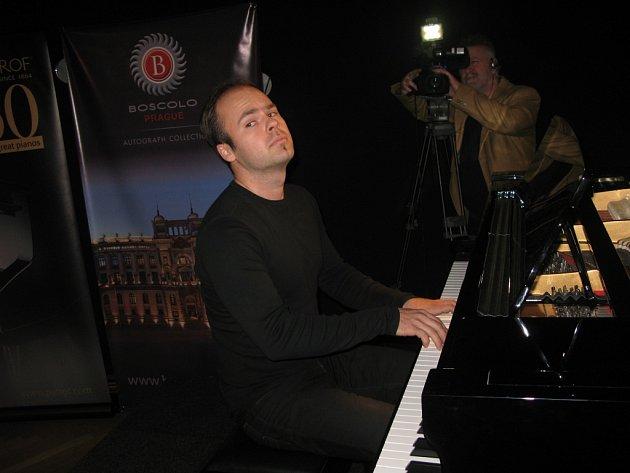 Ze třetího kola soutěže Pianista roku 2015.