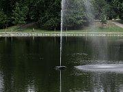 Nové rybníky ve Stromovce lákají ke koupání a to i přes zákaz.