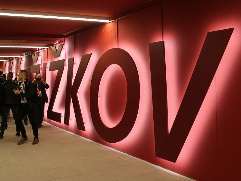 Slavnostní otevření - Nový vestibul Praha Hlavní nádraží - Žižkov.