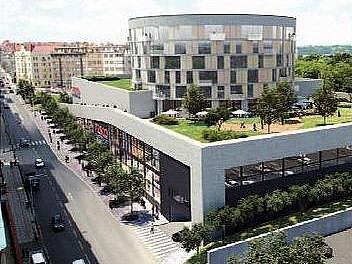 Galerie Stromovka má do roka vyrůst mezi ulicemi Veletržní a Strojnická. Lidé jsou proti.