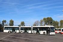 tříčlánkový autobus Van Hool AGG300