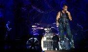 Populární německá kapela Rammstein v sobotu vystoupila v pražské O2 areně.