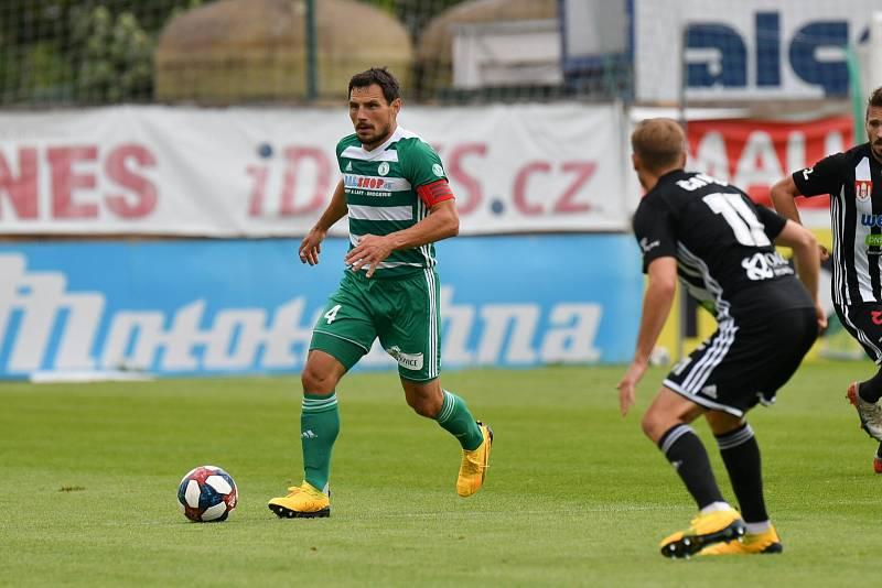 Utkání 26. kola Fortuna ligy mezi Bohemians Praha 1905 a SK Dynamo České Budějovice