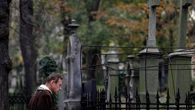 Olšanské hřbitovy.