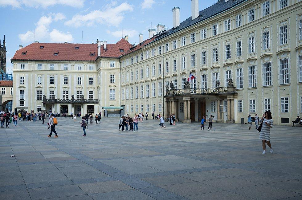 Praha neznámá, Pražský hrad, III. nádvoří, 26.5.2017
