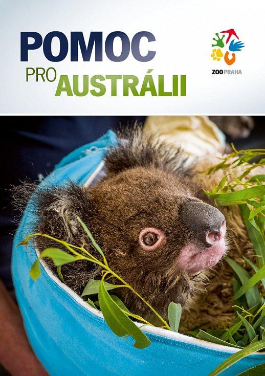 """Obálka brožury """"Pomoc pro Austrálii"""", kterou si zájemci mohou stáhnout na webu."""