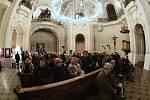Adventní koncert v chrámu svatého Mikuláše na Staroměstském náměstí v Praze.