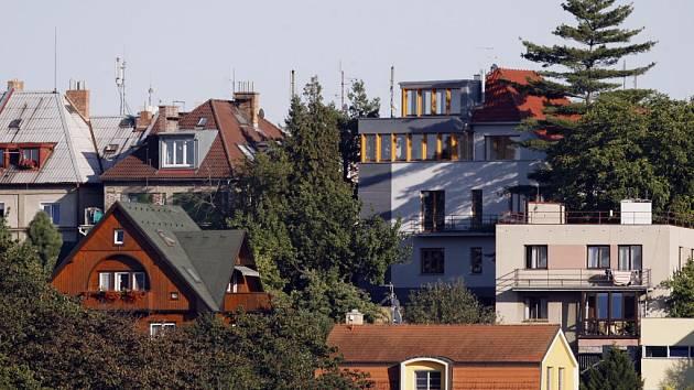 Rodinné domy. Ilustrační foto.