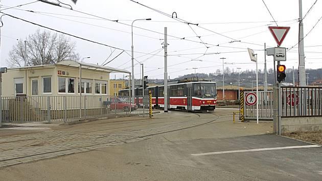 Vozovna Hloubětín. Ilustrační foto.