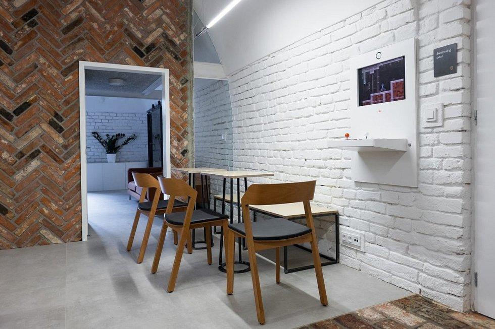 Malá kancelář Vault 42, Olomouc.