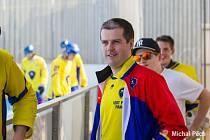 David Kuna je šéfem klubu HC Kert park Praha i trenérem jeho extraligového A týmu.