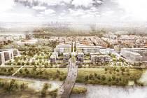 Vizualizace projektu Rohan City.