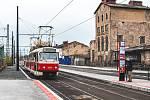 Návrat tramvají do Nádražní ulice.