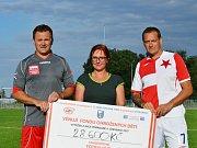 Slávisté společně s partnery vybrali téměř 30 tisíc korun pro děti z Klokánku