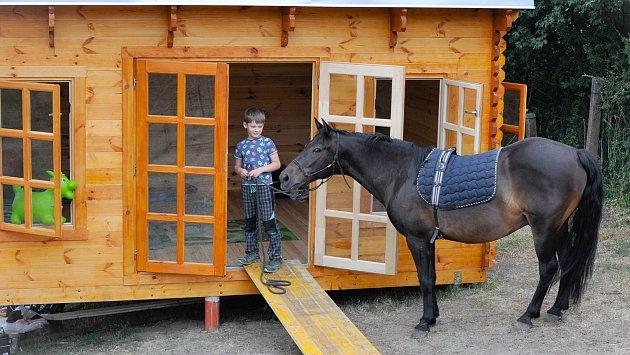 Kůň motivuje děti kvýuce