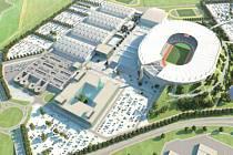 Olympijský stadion v Letňanech
