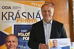 Kandidát na pražského primátora Pavel Sehnal (ODA) chce přejmenovat holešovické výstaviště na Park Miloše Formana. Synové zesnulého režiséra se proti tomu ohradili.