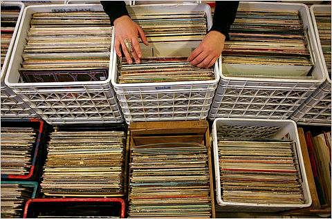 Vinylové desky.jsou stále populární