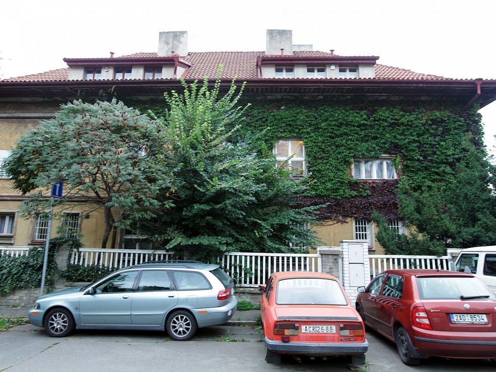 Dům bratří Čapků na Vinohradech