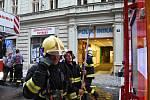Požár v Palackého ul.