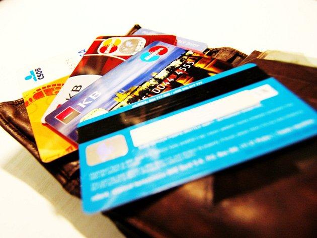 Kreditní karty. Ilustrační foto.