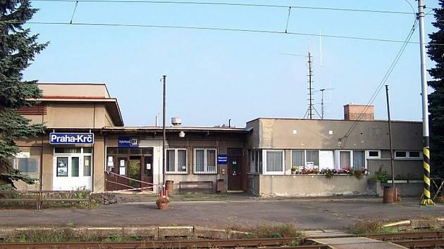 Nádraží Praha-Krč.