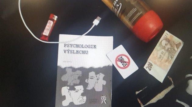 Zadržení dealera drog v Praze