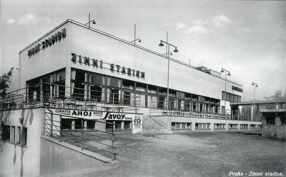 Za první republiky zde byl podle návrhu Josefa Fuchse postaven zimní stadion Štvanice. Foto: Stavbaweb