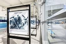 Na Letišti Václava Havla Praha byla pro veřejnost otevřena nová výstava k 75. výročí příletu československých letců RAF.