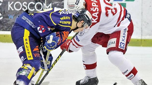 Až nečekaně moc se hokejisté pražské Slavie nadřeli na vítězství 4:3 nad posledním Šumperkem. Prohrávali už 1:3.