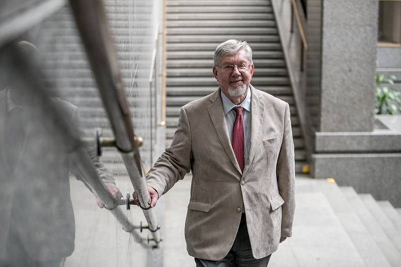 Ústavní právník a prorektor Univerzity Karlovy Aleš Gerloch.