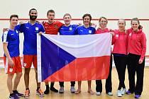 Česká squashová reprezentace.